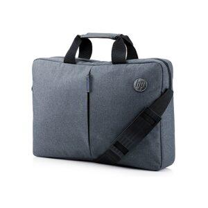 HP 15.6 Value Top Load Laptop Shoulder Strap Bag (Grey)