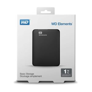 WD Elements 1TB External Hard Drive USB 3.0
