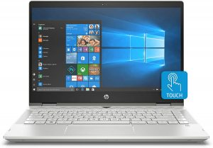 HP Pavilion x360 14 – 14″ Diagonal FHD IPS Touch Display, Intel Core i5-1035G1, 8GB RAM, 1TB HDD, Windows 10 Home