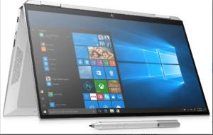HP Spectre X360 13 (Gemcut) - 13.3″ diagonal FHD IPS BrightView Touch Display, Intel Core i7-1065G7 (1.3GHz), 512GB SSD+32GB Opt. Mem, 8GB RAM, Windows 10 Home
