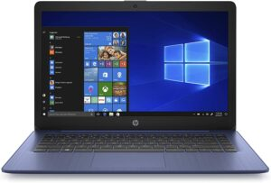 HP Stream 11 – 11.6″ Diagonal HD Display, Intel® Celeron® N4020 (1.1GHz), 4GB RAM, 64GB eMMC, Windows 10 Home in S mode