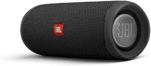 JBL FLIP 5 Portable Waterproof Bluetooth Speaker for Home, Outdoor and Travel - Black