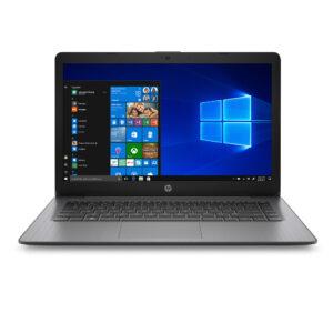 HP Stream 14 – 14″ Diagonal HD SVA Brightview Display, Intel® Celeron® N4000 (1.1GHz), 4GB RAM, 64GB eMMC, Windows 10 Home in S mode