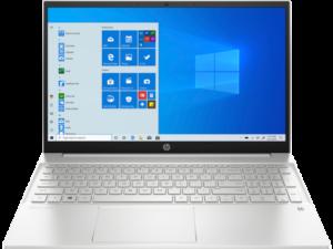 HP Pavilion 15 – 15.6″ HD Display, Intel Core i3-1115G4, 8GB RAM, 512SSD, Keyboardlight, Windows 10 Home