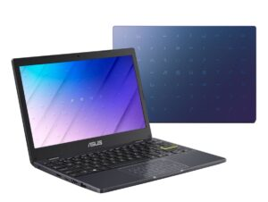 "Asus VivoBook E210M - 11.6"" HD LED Backlit Display, Intel® Celeron® N4020, 4GB RAM, 128GB eMMC, Windows 10 Home - Peacock Blue"