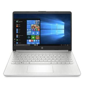 "HP Notebook 14- 14"" FHD IPS Display, Intel Core i3-1005G1, 8GB RAM, 256GB SSD, Backlit Keyboard, Windows 10 Home in S mode"